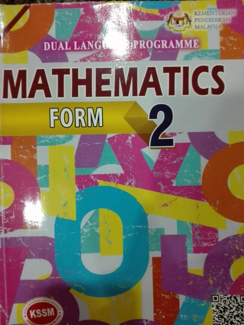 Mathematics Kssm Form 2 Books Stationery Books On Carousell