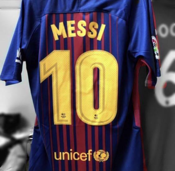 wholesale dealer 1a4dc d26e8 MESSI Barcelona Home Jersey 17/18, Sports, Sports Apparel on ...
