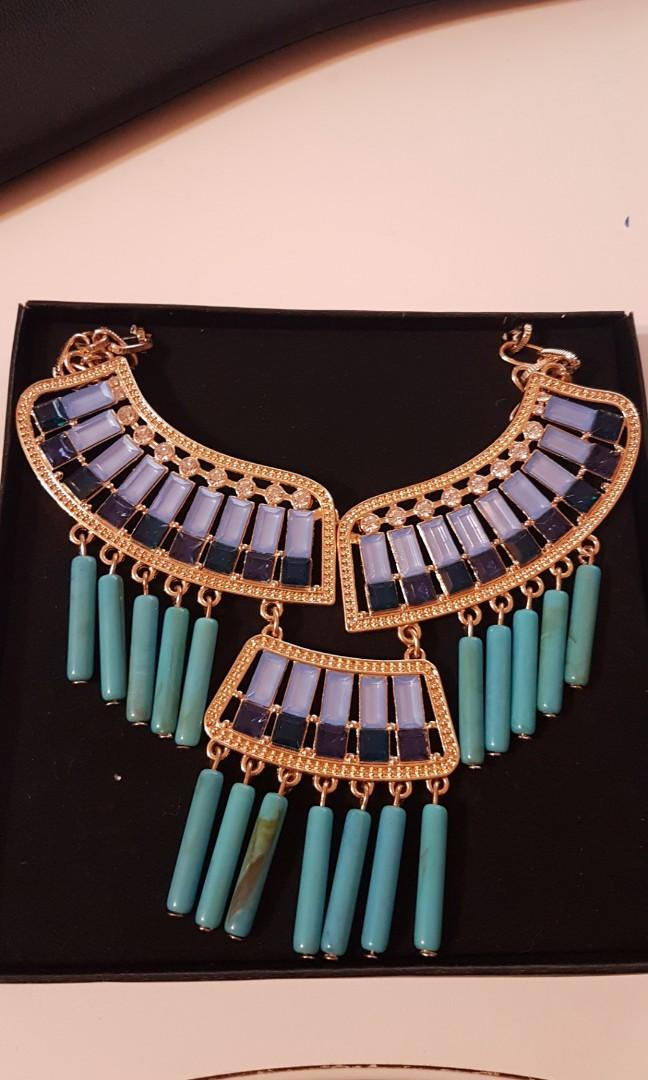new in box.  Beautiful south western statement necklace