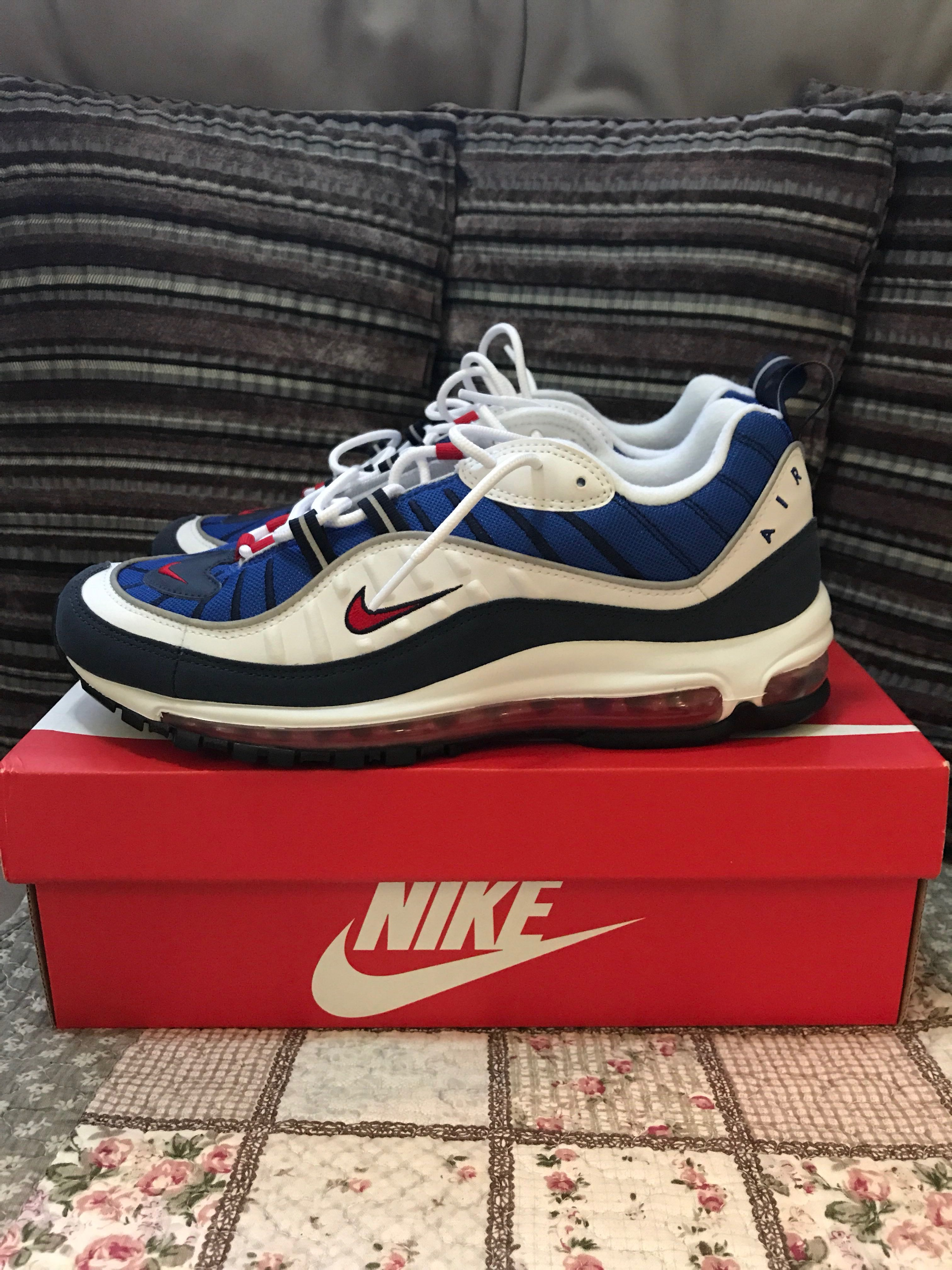 fa784e732c Nike Air Max 97 Gundam, Men's Fashion, Footwear, Sneakers on Carousell