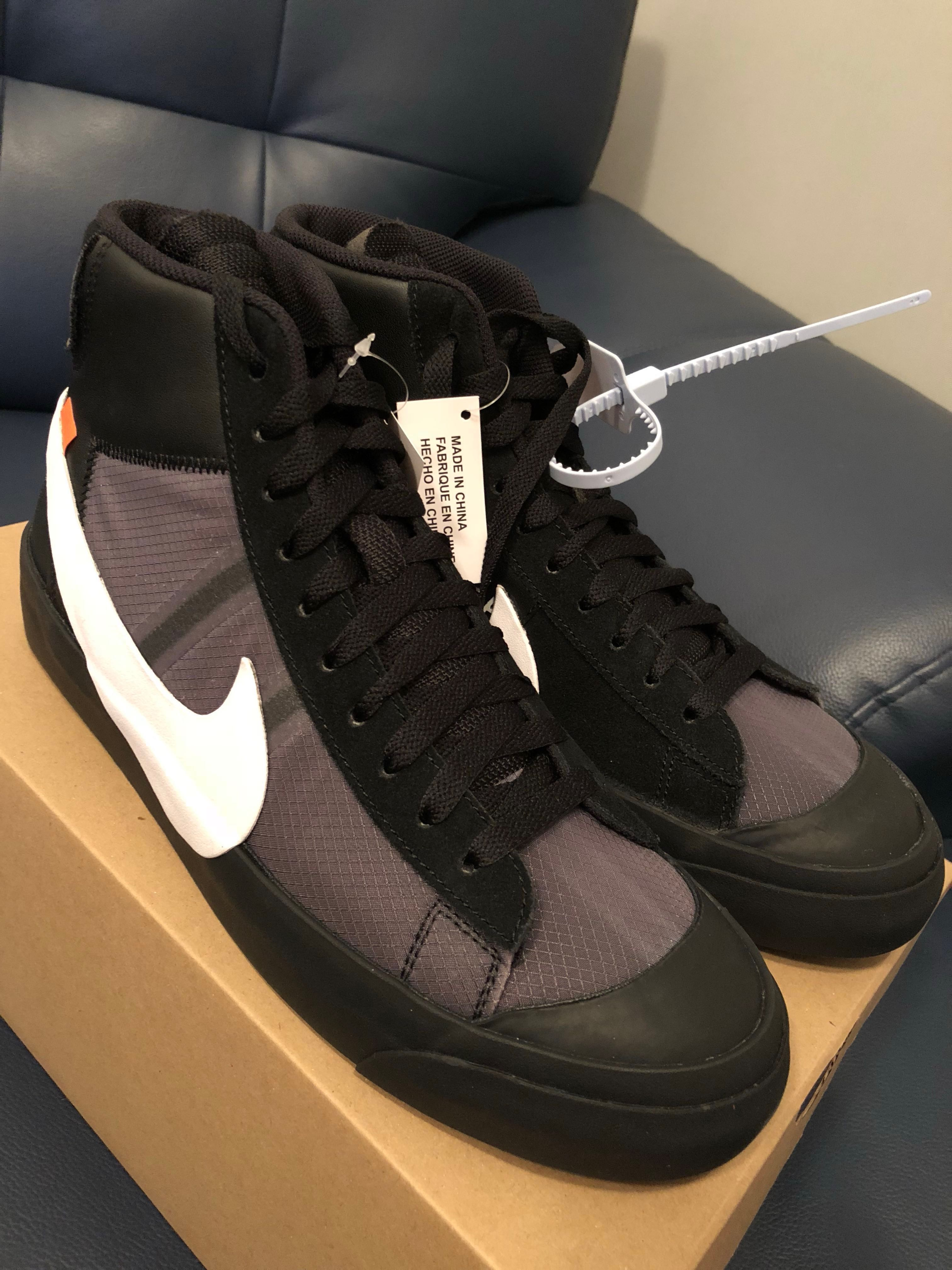 Nike Blazer Mid Off White Grim Reaper US 9.5 490485954