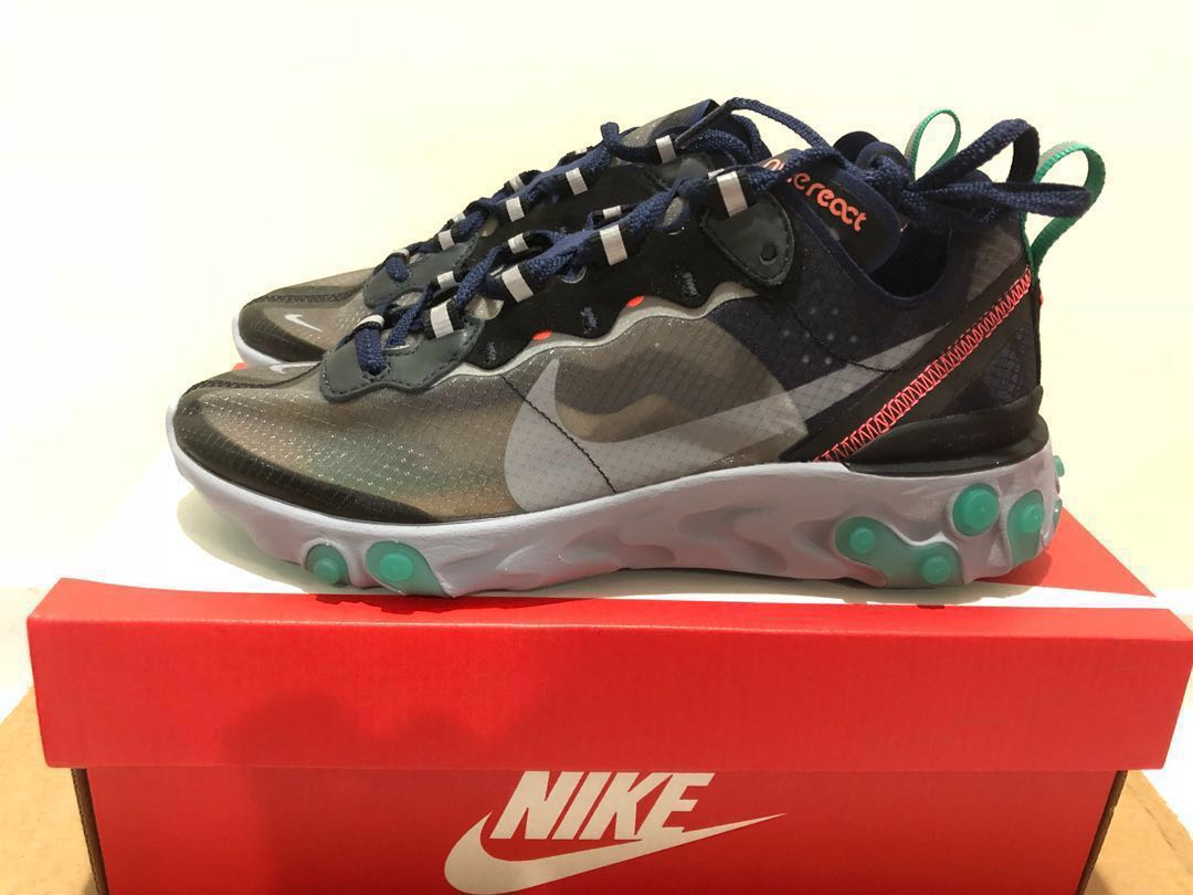 reputable site 0111b 62ddd Nike React Element 87, Women's Fashion, Shoes, Sneakers on ...