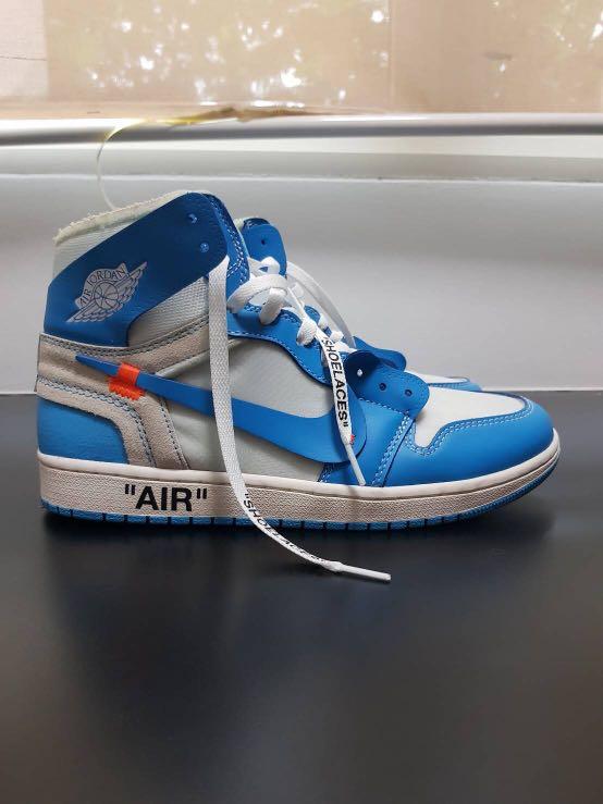 quality design efab6 ed582 Nike x Off White Jordan 1 UNC