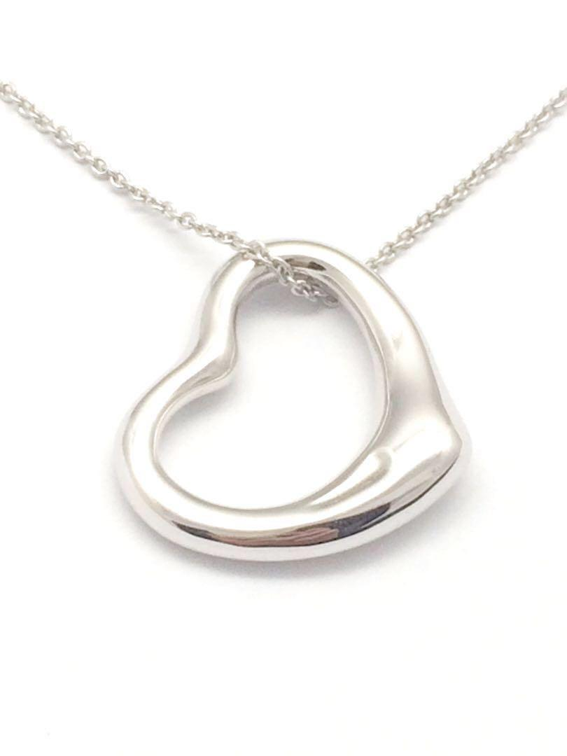 Price Reduced Tiffany Co Open Heart Necklace Luxury