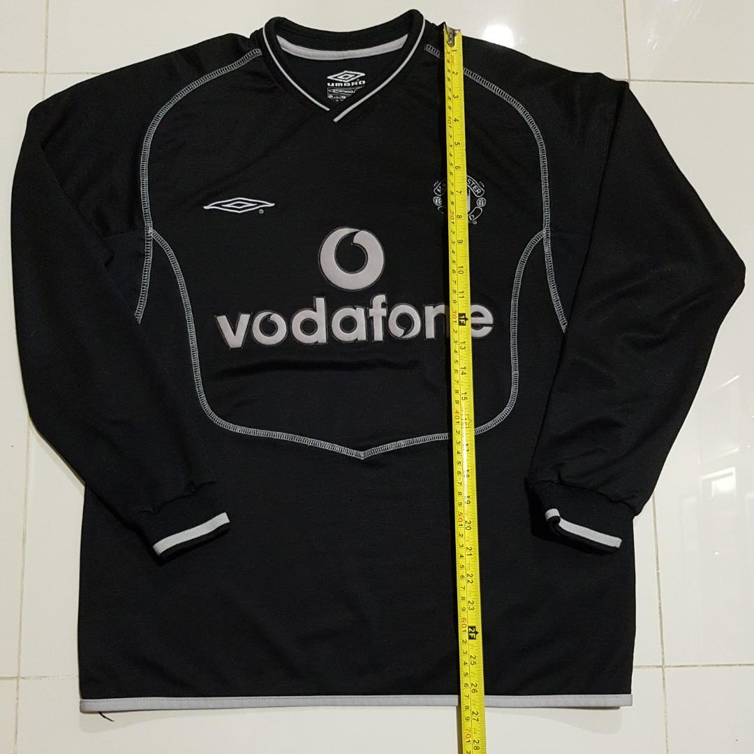 80599b2a3 Rare Manchester United goalkeeper Jersey