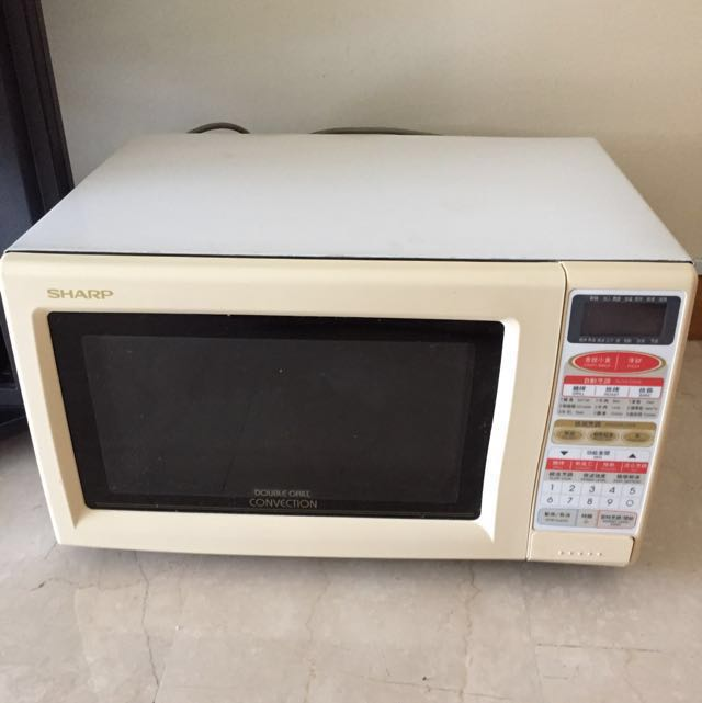 Sharp R 778b Double Grill Convection Microwave Oven Made In Japan