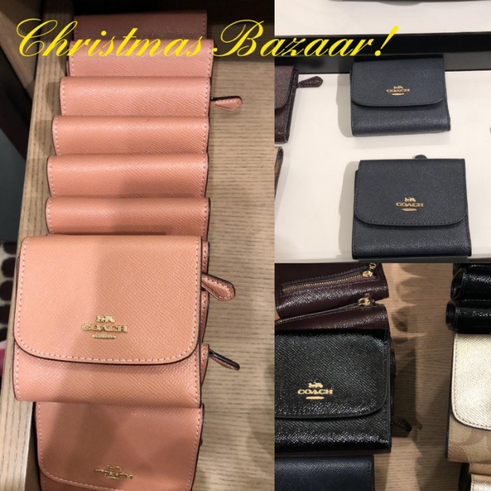 df5bf82ebf SPECIAL OFFER! Coach Trifold Small Wallet- with Coin Compartment ...