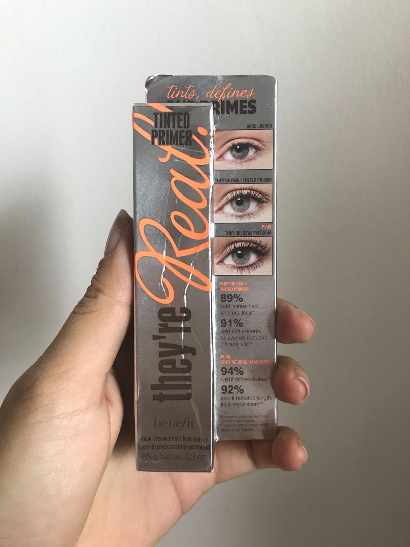 4e7ebb154f8 They're Real Tinted Primer BENEFIT Original NIB, Health & Beauty ...