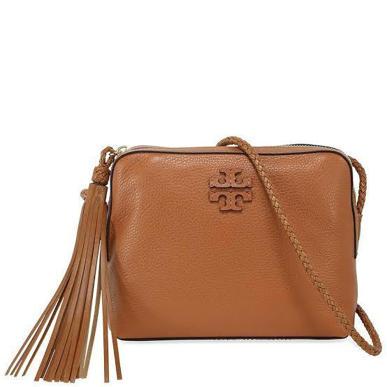 00ad3858a2d9 Tory Burch Taylor Camera Bag in Saddle