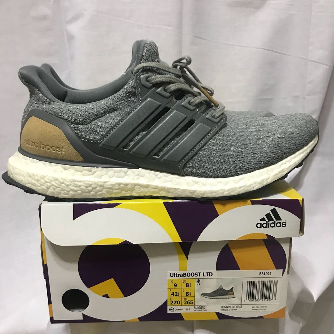 d6ef7b129d14a Ultraboost LTD 3.0 (Leather Grey)