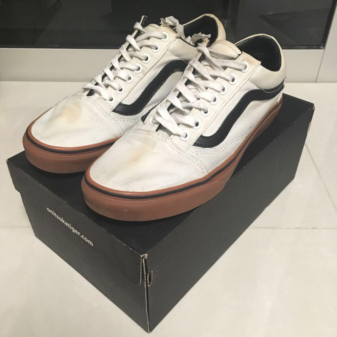 Vans Old Skool Off white and gum sole