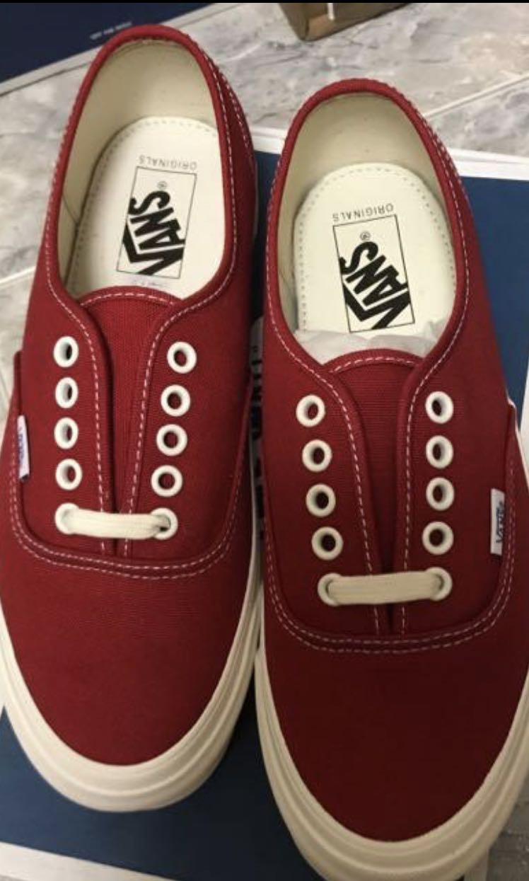 f66613c46e Vans vault og authentic chili pepper