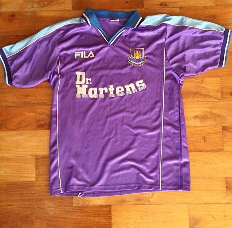 Vintage Fila West Ham Football jersey ad815999c