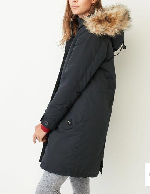 Warm Winter Jacket with Fur