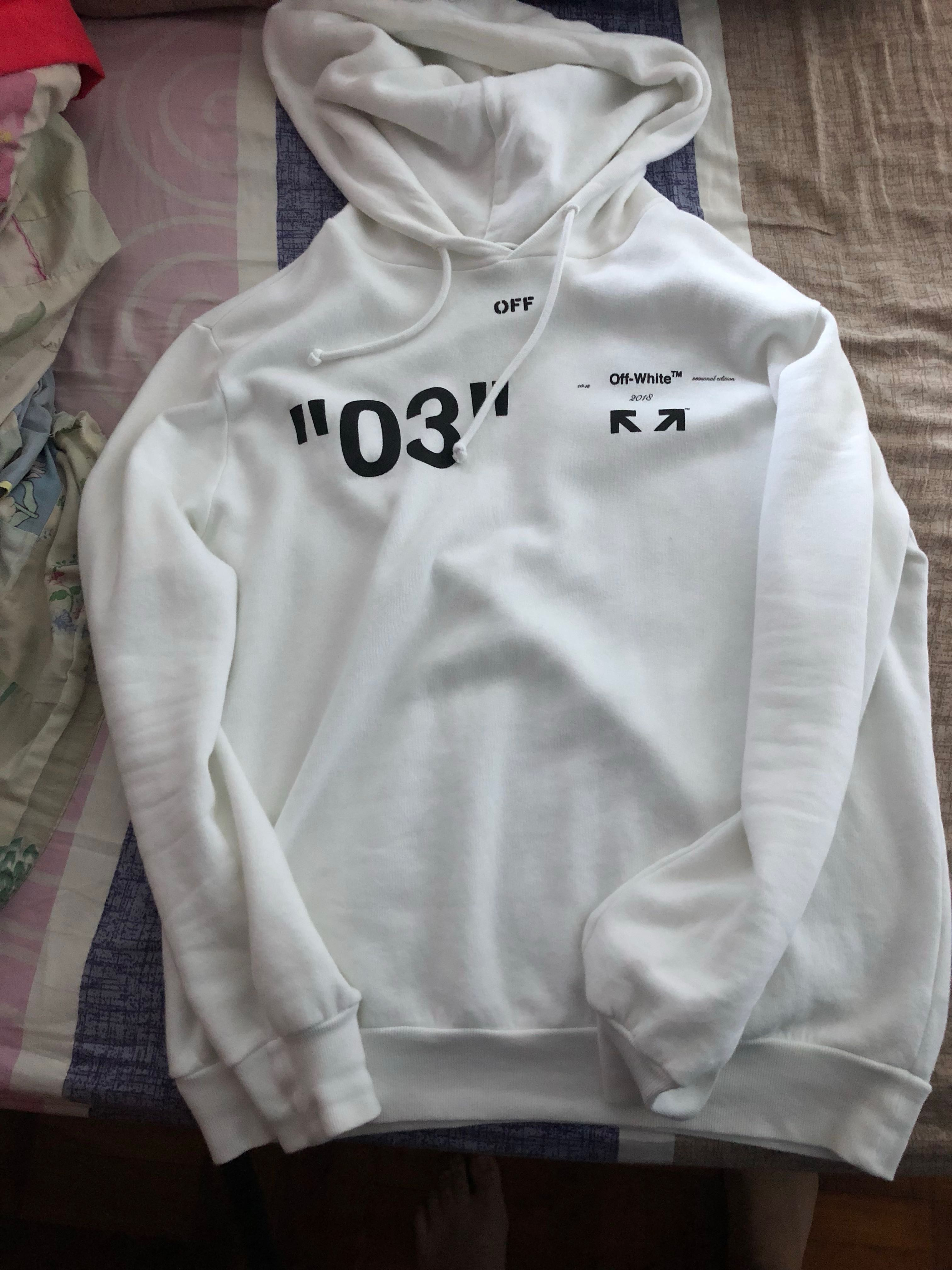 17682f854fab WTT Off white For all 03 arrow hoodie size s