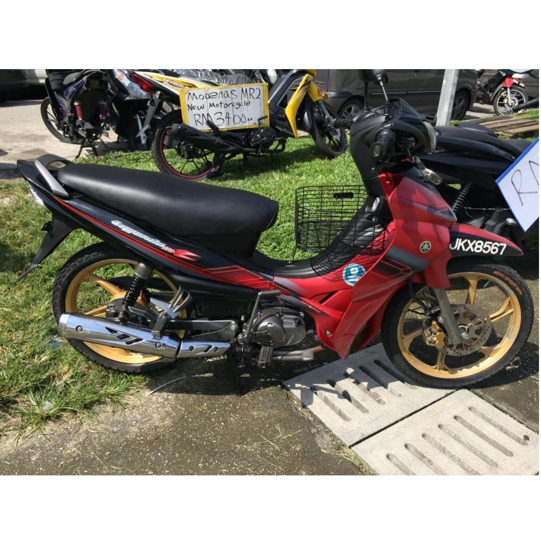Yamaha Lagenda 110z K Warranty 2bulan Motorbikes On Carousell