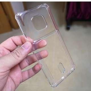華為 Mate 20 pro 四角氣囊保護 外面可插卡 軟膠 地盤戶外必備 四邊全包 Case