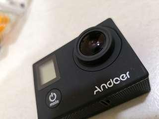 Action camera (Andoer) Good condition with box