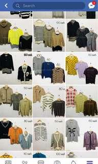 20+ PCS TAKE ALL KNITTED WEARS