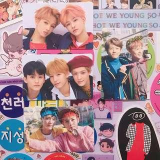 NCT DREAM Unit Official Stickers