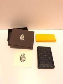 Goyard St. Pierre Bifold Wallet in Black