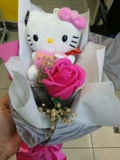 Handmade Hello Kitty Flower
