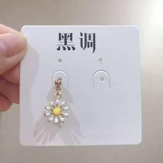 🚚 🔹向日葵🌻單耳耳環
