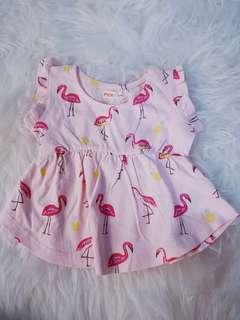 Pink Flamingos Dress