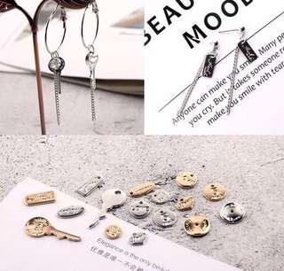 🚚 🔹客製耳環 鑰匙圈❤️鈎式