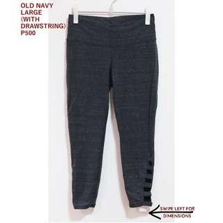 Old Navy Gray Cotton Stretchable Leggings