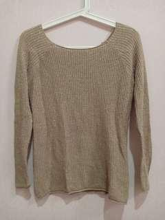 FLASH SALE ONLY TODAY | COLORBOX GOLD SWEATER #yukjualan