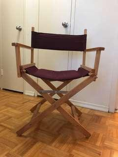 Burgundy vintage chair