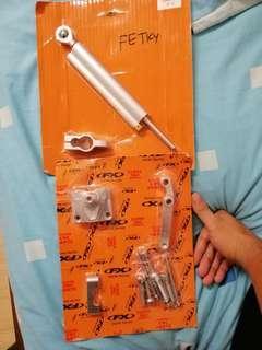 Damper and bracket for Ninja/Z250-300