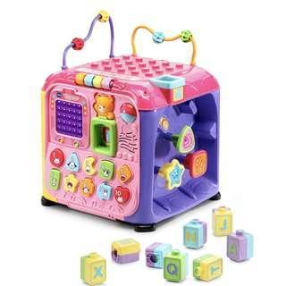 VTech Ultimate Alphabet Activity Cube (Pink)