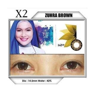 SOFTLENS ZUHRA BROWN