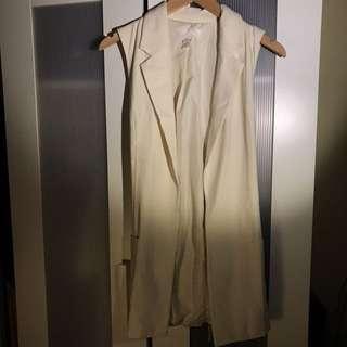 H&M White Vest