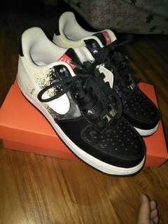 Nike air force 1 low premium black white