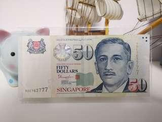 777 Lucky Note $50