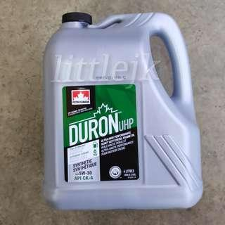 Petro-Canada Duron UHP 5W30 Fully Synthetic HDEO (4L)