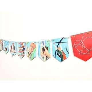 BTS Bangtan kpop banner flag poster set