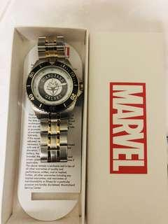 🚚 Marvel Men's 'Guardian' Quartz Stainless Steel Casual Watch, Color Two Tone (Model: WMA000121