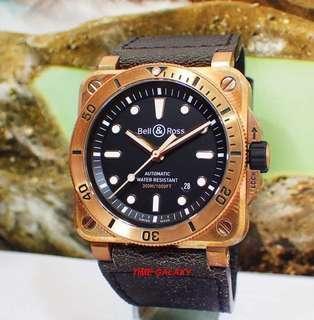 BELL & Rose bronze diver