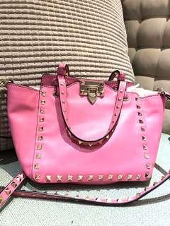 Valentino 粉紅卯丁包