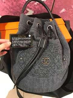 Chanel Backpack 牛仔布