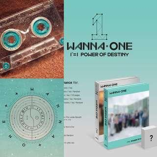 (NON PROFIT) Wanna one Destiny final album SG PO