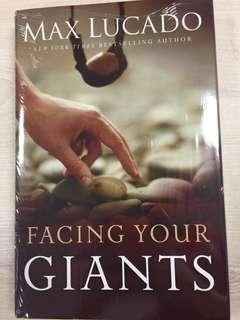Facing Your Giants - Max Luccado(Brand New Hardbound)
