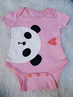 Pink Panda Onesie/Romper