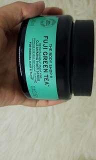 THE BODYSHOP FUJI GREEN TEA HAIR SCRUB