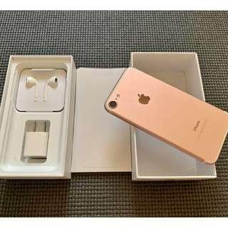 iPhone 7 256gb Rosegold Factory Unlocked