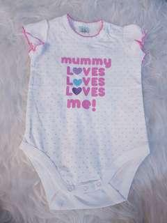 Mummy Loves Me Onesie/Romper